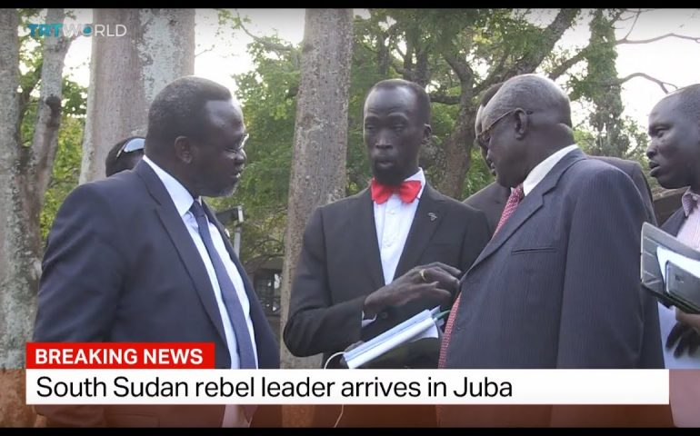Breaking News: South Sudan rebel leader arrives in Juba