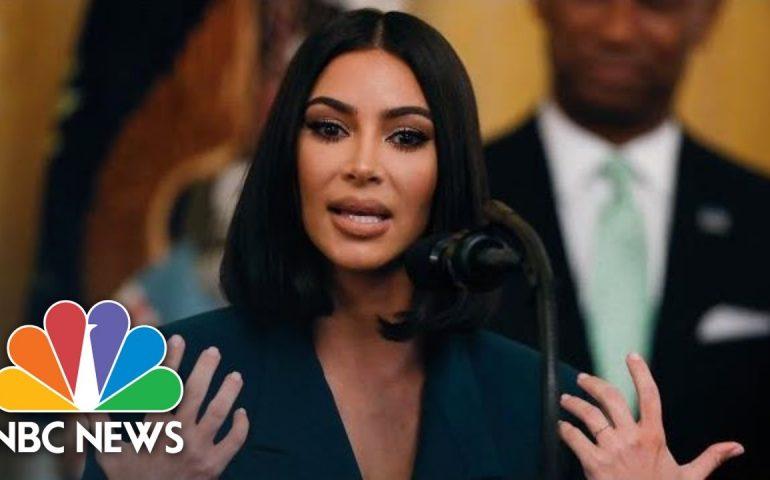Watch Kim Kardashian West's Full White House Speech On Prison Reform   NBC News
