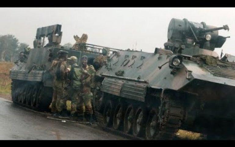 Zimbabwe crisis: Army seizes broadcaster but denies coup – BBC News
