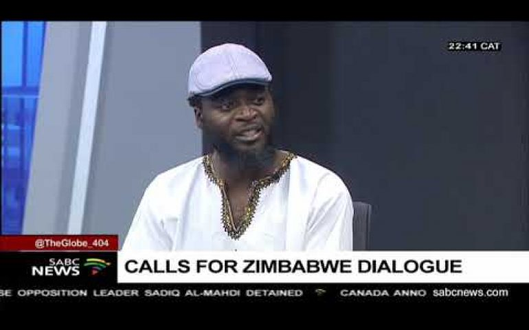 Zimbabwe's political climate: Blessing Vava