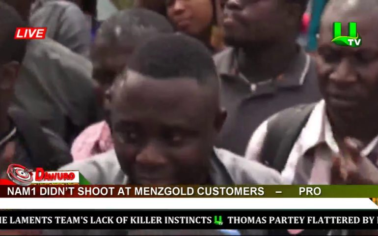 NAM1 didn't shoot at Menzgold customers – PRO