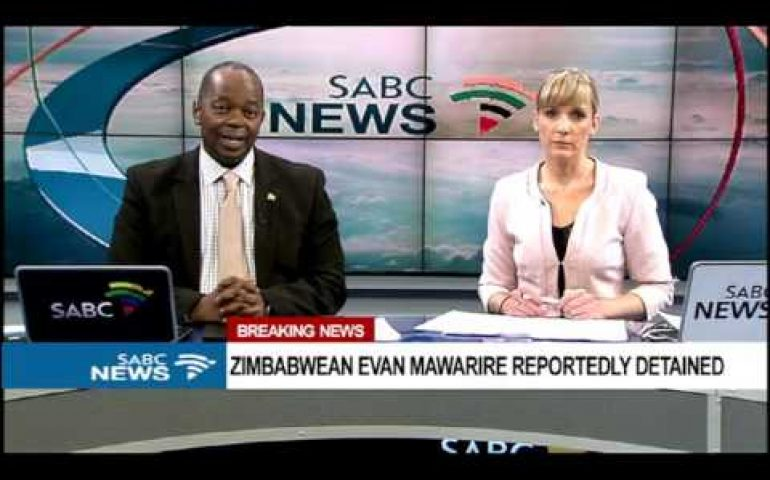 BREAKING NEWS: Zimbabwean Pastor, Evan Mawarire reportedly detained