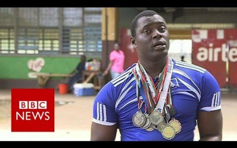 Sierra Leone's homeless Paralympian – BBC News