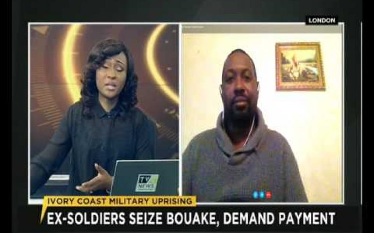 Temitope Olodo speaks on Ivory Coast's military uprising