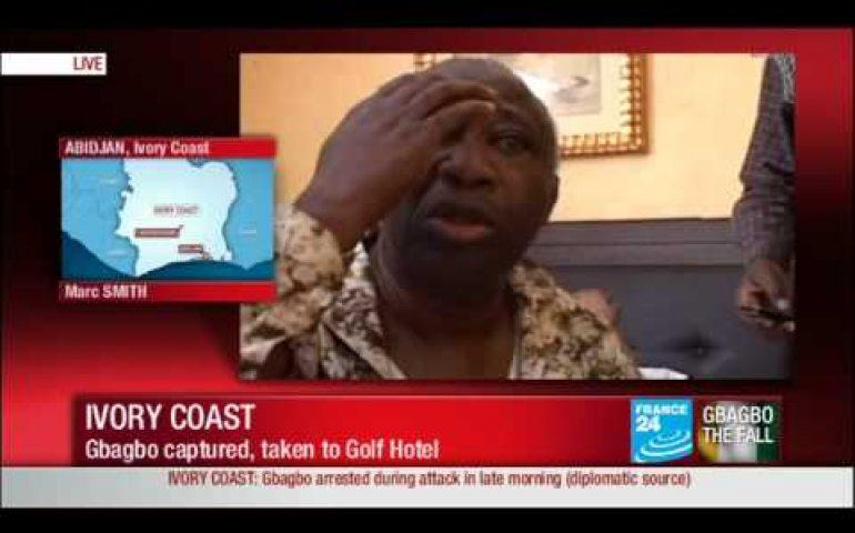 Ivory Coast: Gbagbo captured, taken to Golf Hotel