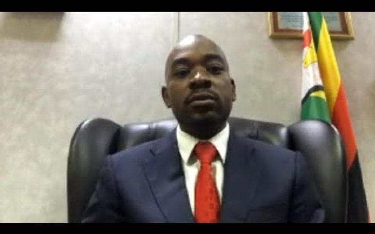 'We are available for dialogue', Zimbabwe's opposition leader Chamisa tells FRANCE 24