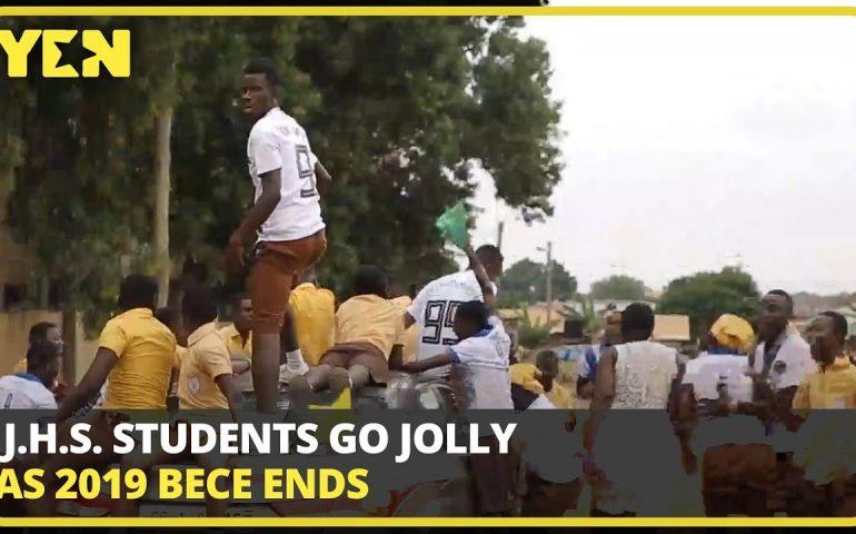Ghana News Today: J.H.S. Students go jolly as 2019 BECE ends | #Yencomgh