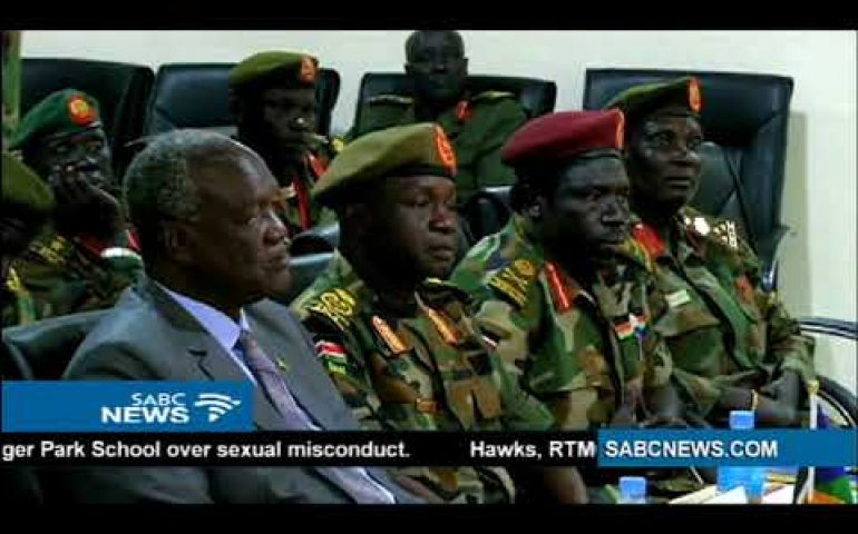 SA, South Sudan sign military defence agreement