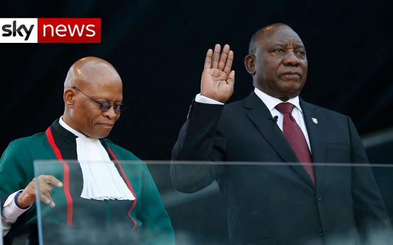 South Africa: 'Huge' challenges as Ramaphosa promises 'new era of hope'