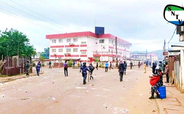 Sierra Leone Police At The APC Headquarters 31st May 2019 – Sierra Network