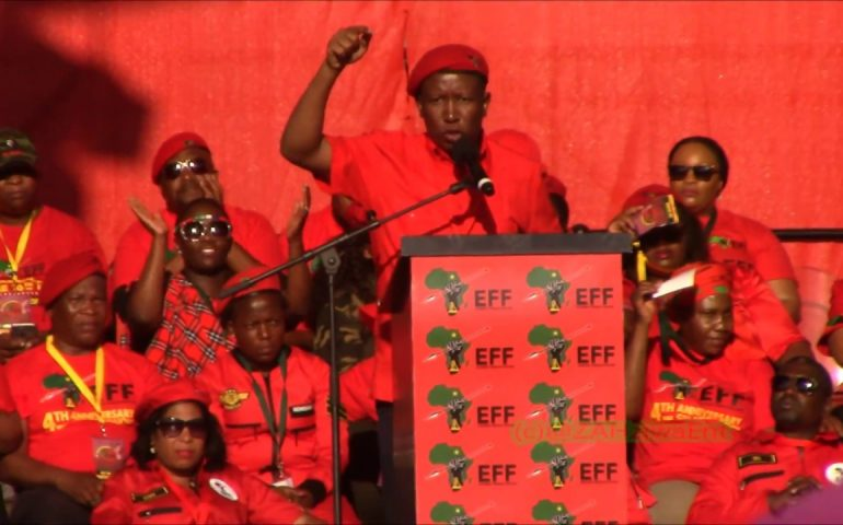 'The African Union is Toothless and has became Useless' –  Julius Malema