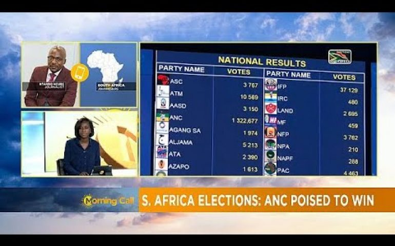 S'Africa Elections: ANC with worst performance in 25 years [Morning Call]