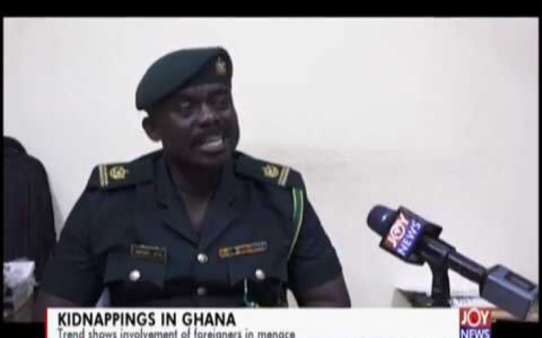 Kidnappings in Ghana: Data shows Nigerians are largely involved in the menace