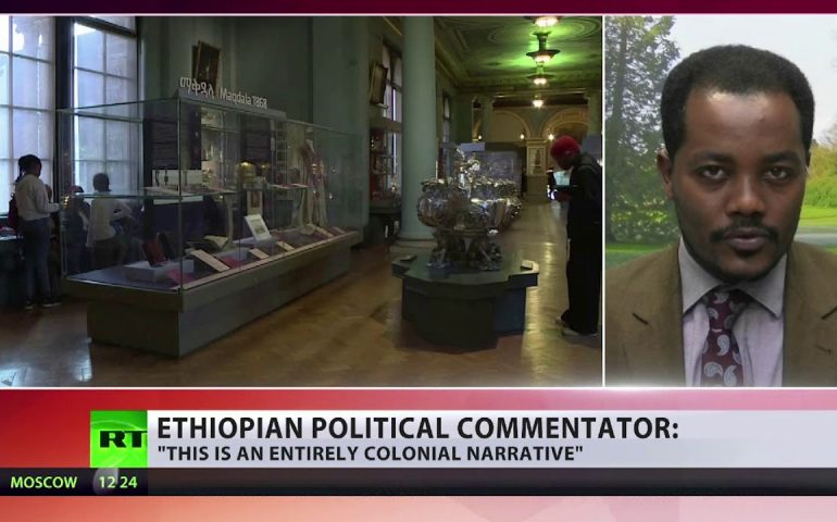 Ethiopia demands UK museum return 'looted treasures'