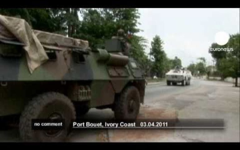 Ivory Coast: Gbagbo's palace under heavy attack – no comment