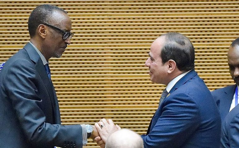 Kagame steps down, Egypt's Sisi takes helm at African Union