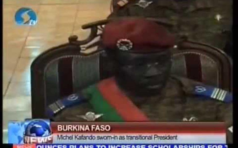 Burkina Faso: Michel Kafando sworn in as transitional President