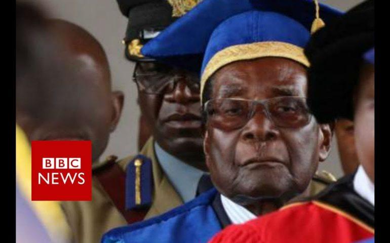 Zimbabwe crisis: Mugabe makes first public appearance – BBC News