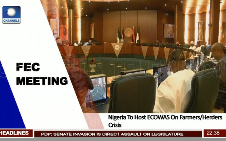 FEC Meeting: Nigeria To Host ECOWAS On Farmers Herders Crisis