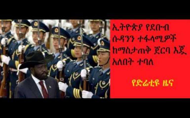 DireTube News – Claims China shipping lethal weapons to Juba via Ethiopia