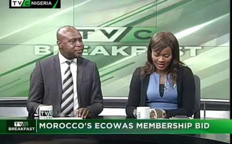 TVC Breakfast 27th September 2017 |  Morocco's ECOWAS Membership  Bid