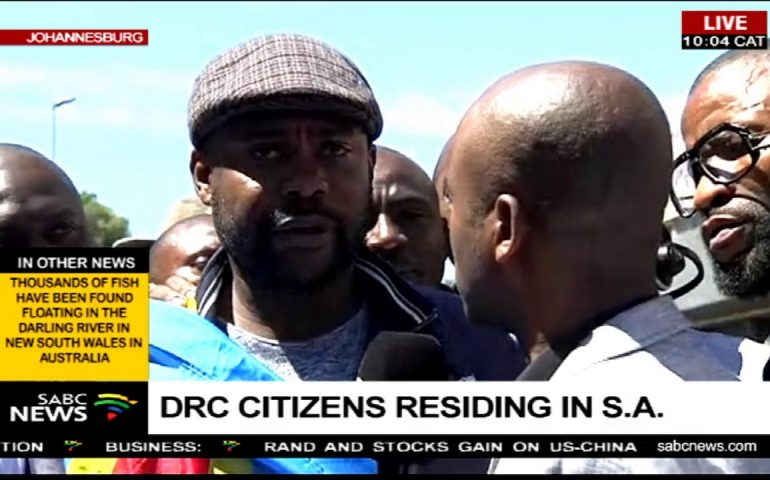 DRC citizens residing in SA celebrate