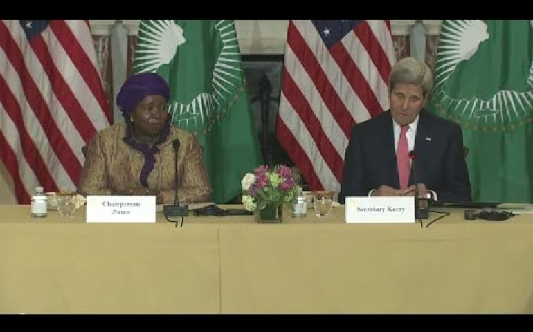 Secretary Kerry Delivers Remarks at the African Union Commission High Level Dialogue