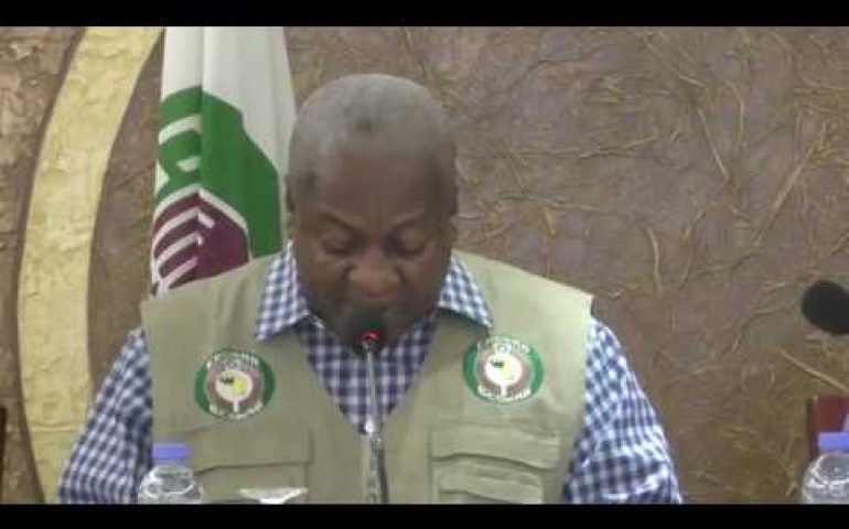 ECOWAS AND A.U PRESS CONFERENCE (LIBERIA RUNOFF ELECTIONS DEC 26,2017 FINDINGS)
