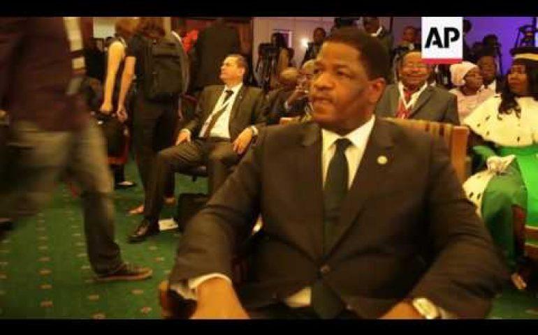 WAfrican leaders at ECOWAS summit